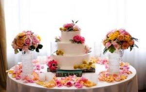 Estilos de decoração para mesas de casamento