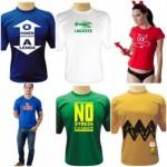 583775 As camisetas divertidas podem ser usadas com várias outras peças de roupas. Foto divulgação 150x150 Camisetas com estampas divertidas: fotos