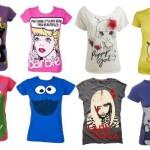 583775 Os desenhos também estão presentes nas camisetas divertidas. Foto divulgação 150x150 Camisetas com estampas divertidas: fotos