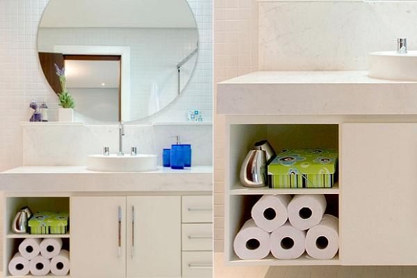 Banheiro pequeno dicas para decorar, fotos  MundodasTribos – Todas as tribo -> Banheiro Decorar Dicas
