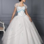 591643 vestido para debutante branco 150x150 Vestidos de debutante com corpete