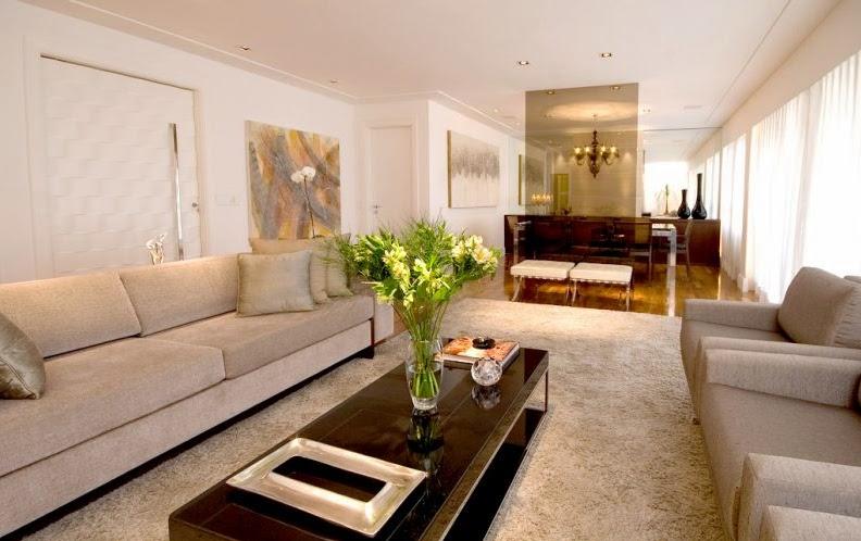 Decora o de salas de estar fotos for Fotos de sala de estar