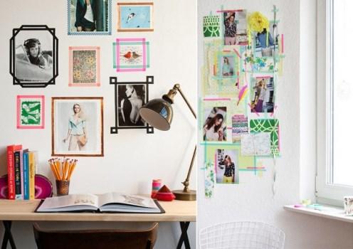 Washi tapes o que onde comprar - Ideas originales para decorar paredes ...