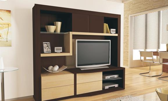 Modelos de estantes para sala de estar for Modelos de salas de estar para casas
