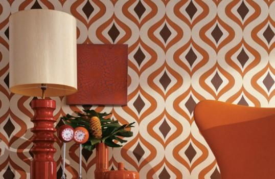 O papel de parede é responsável por deixar a decoração mais charmosa. (Foto:Divulgação)
