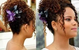 Penteados para festa cabelos cacheados