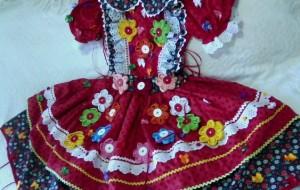 Vestidos caipiras para festa junina 2015