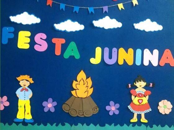 decoracao alternativa para festa junina:Decoração de sala de aula para festa junina 12