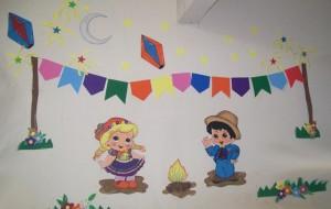 Decoração de sala de aula para festa junina