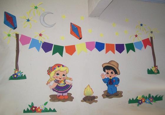 decoracao alternativa para festa junina:Decoração de sala de aula para festa junina 15