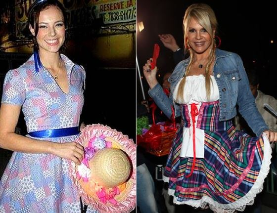 famosos vestidos de festa junina 52263117f65
