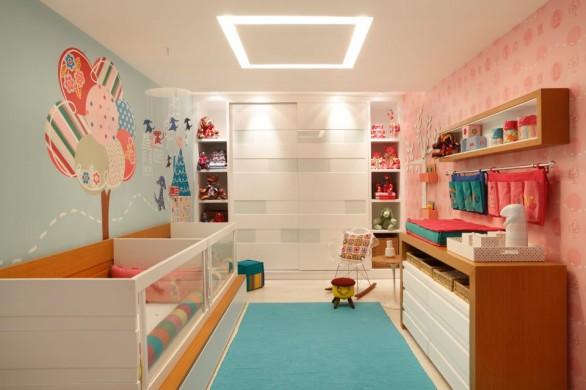 Quarto Pequeno Com Banheiro Dentro ~ Veja como organizar o quarto de seu pequeno de maneira ?til e