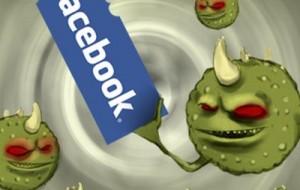 Vírus que rouba contas do Facebook