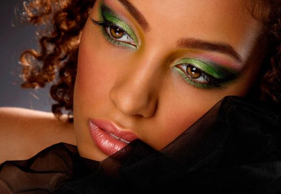 Maquiagem de festa junina para pele negra
