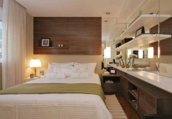 decoracao de quartos para ambientes pequenos: . Veja dicas e fotos de quarto de casal pequeno e decorado