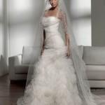 641563 Os vestidos de noiva caem muito bem. Foto divulgação 150x150 Vestido de noiva tipo princesa: dicas, fotos