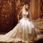 641563 Os vestidos de noiva estilo princesa caem muito bem. Foto divulgação 150x150 Vestido de noiva tipo princesa: dicas, fotos