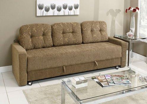 Sofá cama 3 lugares: modelos, preços