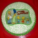 643875 O bolo deve ser caprichado pois é o centro das atenções. 150x150 Decoração de aniversário tema Os Simpsons: fotos, dicas
