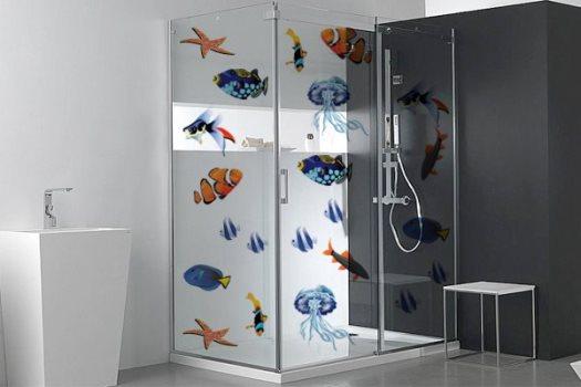 Adesivo De Flamingo ~ Adesivos para box de banheiro preços, onde comprar