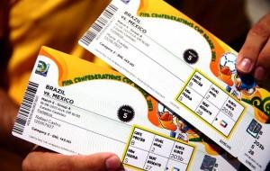 Preço dos ingressos da Copa do Mundo no Brasil