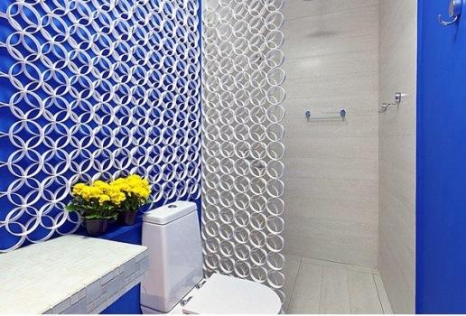 Decoração de banheiro com objetos recicláveis  MundodasTribos – Todas as tri -> Decoracao De Banheiro Com Material Reciclado