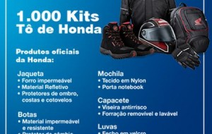 Promoção Tô de Honda, tô patrão