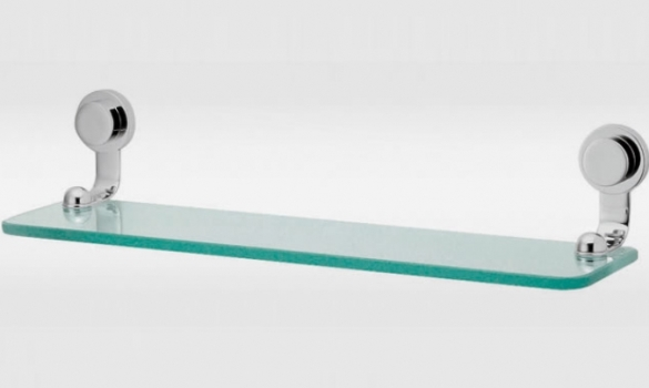 Estante De Vidro Temperado : Como instalar prateleira de vidro