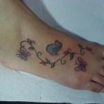 65566 tatuagens femininas delicadas no pe borboletas 150x150 Tatuagens Femininas Delicadas No Pé