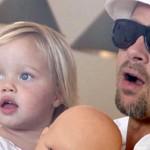 661847 Filhos dos famosos 04 Angelina Jolie e Brad Pitt 150x150 Filhos dos famosos