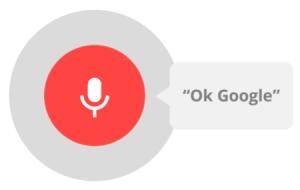 Ok google: extensão para fazer buscas por voz