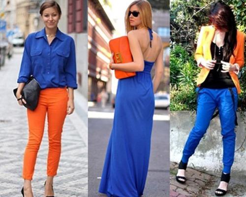 Azul royal também fica ótimo com outras cores vibrantes (Foto: Divulgação)