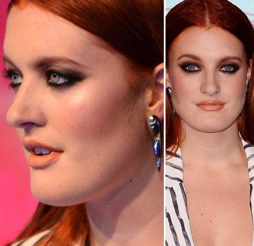 Dramática, maquiagem de Caroline Hjelt foi destaque (Foto: Divulgação)