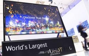 Nova TV de 110 polegadas da Samsung