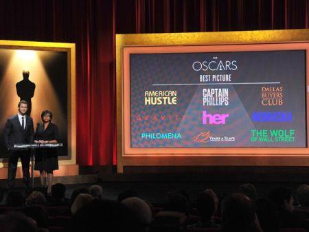 Cerimônia de anúncio dos indicados ao Oscar 2014 (Foto: Divulgação)