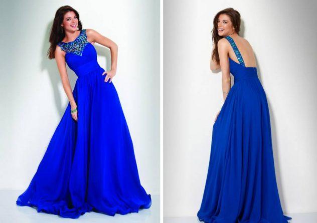 Vestidos azuis são muito bonitos (Foto: Divulgação)