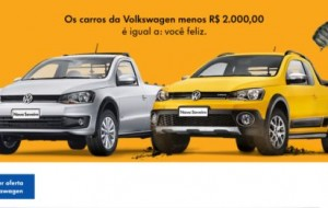 Promoção da Volkswagen dá descontos no Facebook