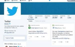 Twitter pode ganhar layout parecido ao do Facebook