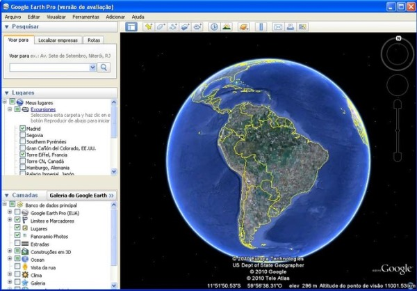 Are como usar o google earth ao vivo study