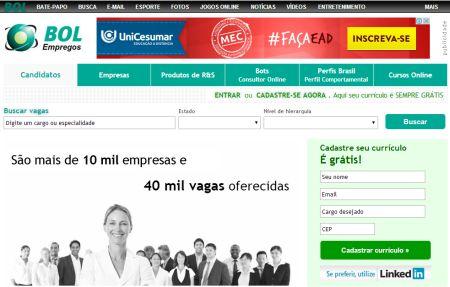 10 sites grátis para buscar emprego