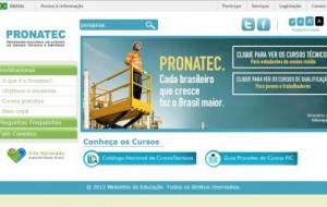 PRONATEC 2016 pronatec.mec.gov.br