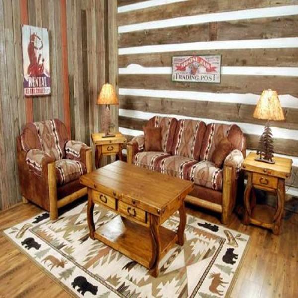 Decora es r sticas para sala de estar - Sala da pranzo rustica ...
