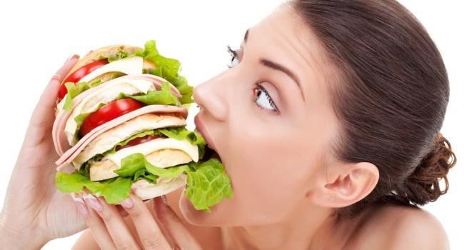 abrindo o apetite para alimentação