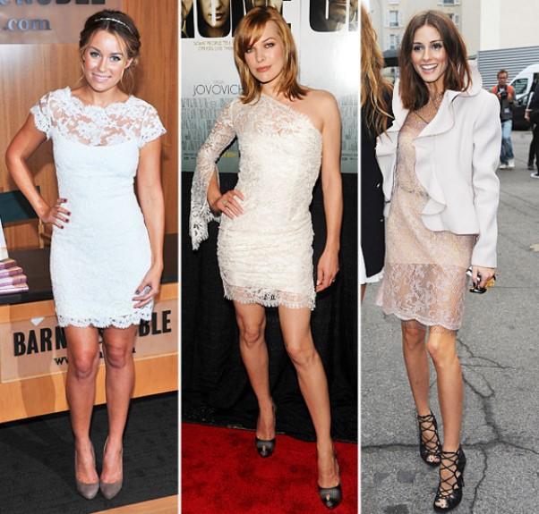 Modelos de vestido de renda 93