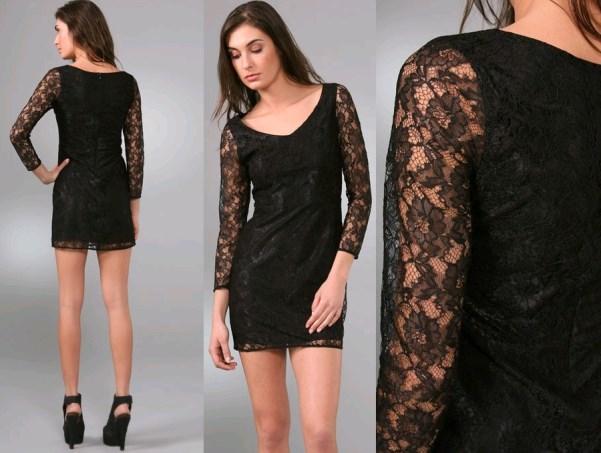Modelos de vestido de renda 16