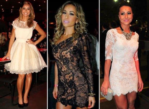 Modelos de vestido de renda 14