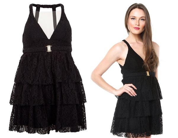Modelos de vestido de renda 34