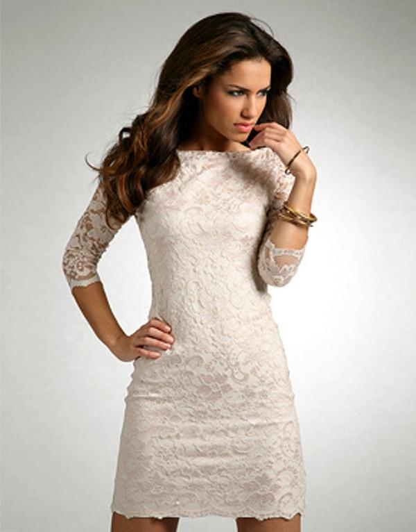 Modelos de vestido de renda 13