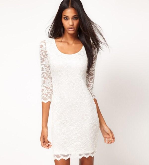 Modelos de vestido de renda 21