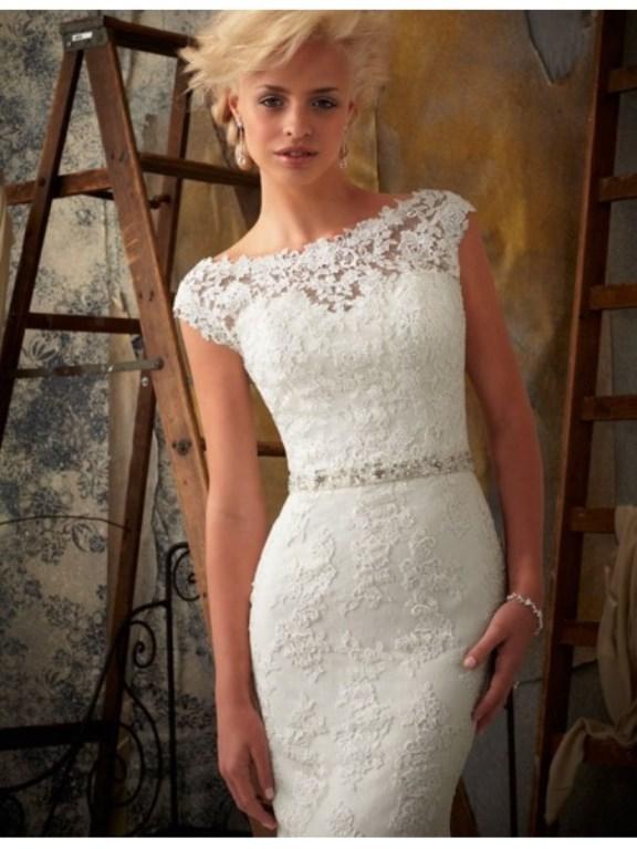Modelos de vestido de renda 31
